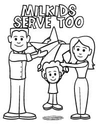 Military Family Coloring Book for Blue Star Families